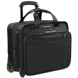 "KR404X Briggs and Riley @Work Checkpoint-Friendly 17"" Executive Expandable Rolling Brief"
