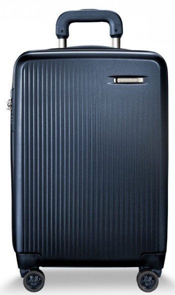 SU121CXSP NAVY Briggs and Riley Sympatico Matte Navy International Expandable Carry-On Spinner