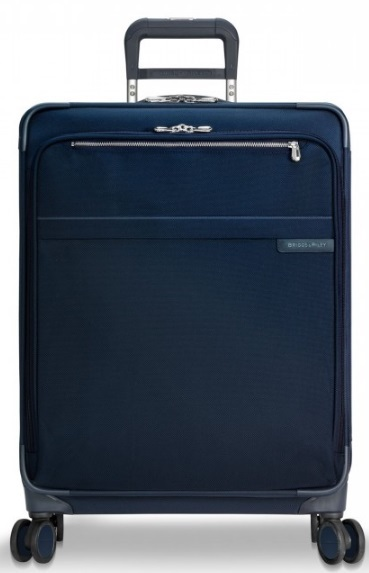 U128CXSPNV Briggs and Riley Baseline CX Navy Large Expandable Spinner