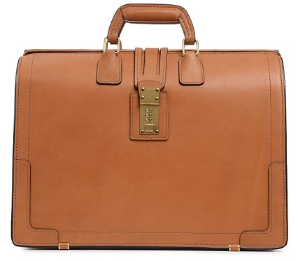 B1140 Leather Briefbag-Korchmar