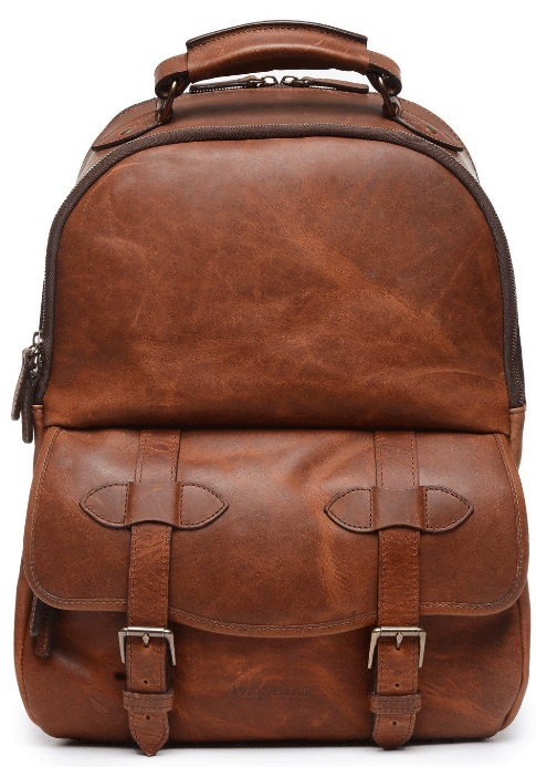 Z1266 Korchmar Lewis Leather Backpack