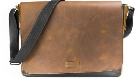 4043 Osgoode Marley Leather Malachi Messenger Bag